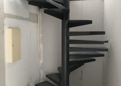 Escalier hélicoïdale en acier