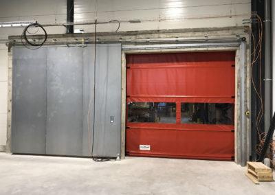 Porte d'accès automatisée